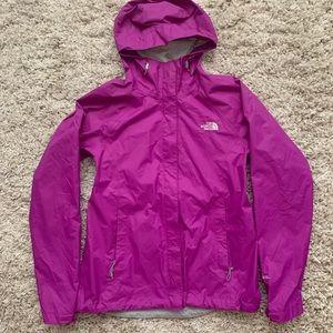 NWOT The North Face Purple Rain Jacket/Coat